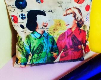 SALE Cushion Cover - Friendship/01