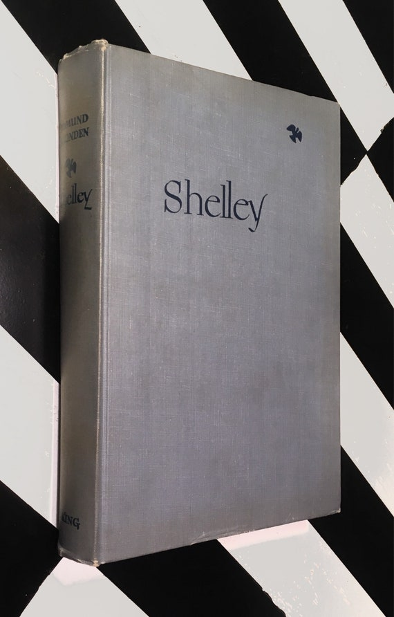 Shelley: A Life Story by Edmund Blunden (1947) hardcover book