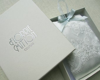 Couture Silk Lavender bag