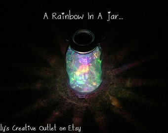 Mason Jar Solar Light   Fairy Lantern   Garden Decororation   Outdoor  Lighting   Fairy Jar