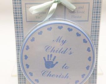 Child to Cherish Hand Print Kit  for Boys using Plaster of Paris