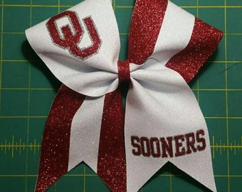 University of Oklahoma Cheer Bow