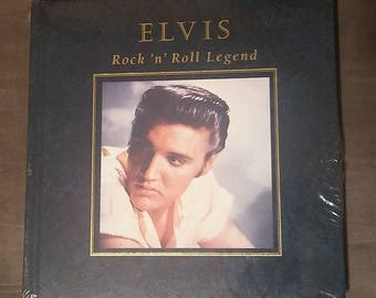 Elvis Rock 'n' Roll Legend Hardcover Book New Sealed