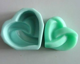 Heart Soap Mold Flexible Silicone Mould For Handmade Soap Candle Candy Cake Fimo Resin Crafts Chocolate molds soap moulds