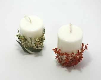 Candle with Design