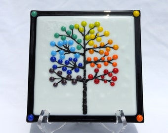 Rainbow Tree Tile