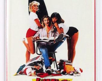 Fast Times At Ridgemont High  Movie Poster FRIDGE MAGNET 1980's Sean Penn School Comedy