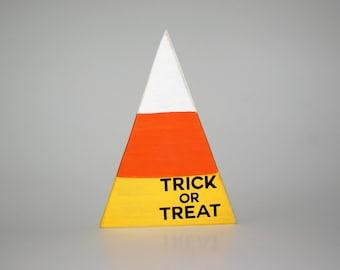 Candy Corn Trick or Treat // Halloween
