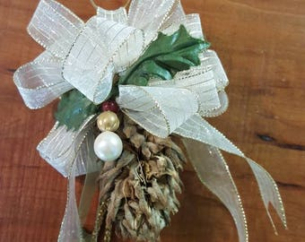 Natural Cristmas Ornament by Marie Rothenbush-Roberts