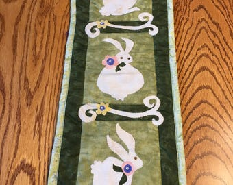 "Bunny Trio Wall Hanging 7"" x 21"""