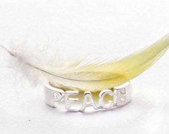 Ring Sweet words peace