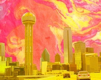 Dallas Skyline - Dallas Wonderland Series - Photography Print