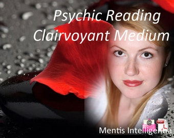 INTUITIVE READING by Psychic Clairvoyant - Email with Pdf