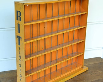 Store Display, Rit Dye Store Rack, Metal with Graphics Store Display