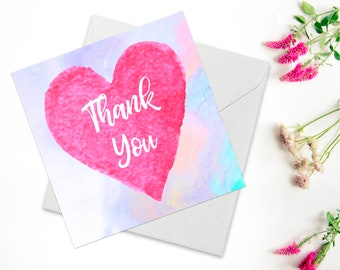 Thank You Card, Just Because Card, Thinking of You Card, Friendship Card, Encouragement Card For Friend, Inspirational Quote Card