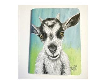 Patty Goat Blank Journal