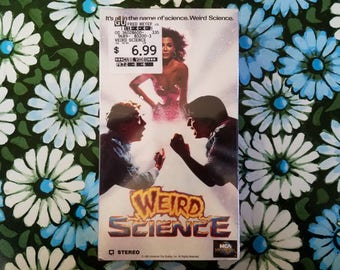 Weird Science VHS, sealed, deadstock