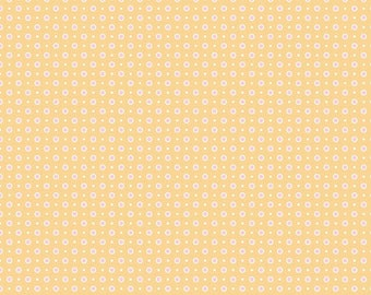 NEW! Bake Sale 2 Fabric - Lori Holt for Riley Blake Designs -Dots-Yellow
