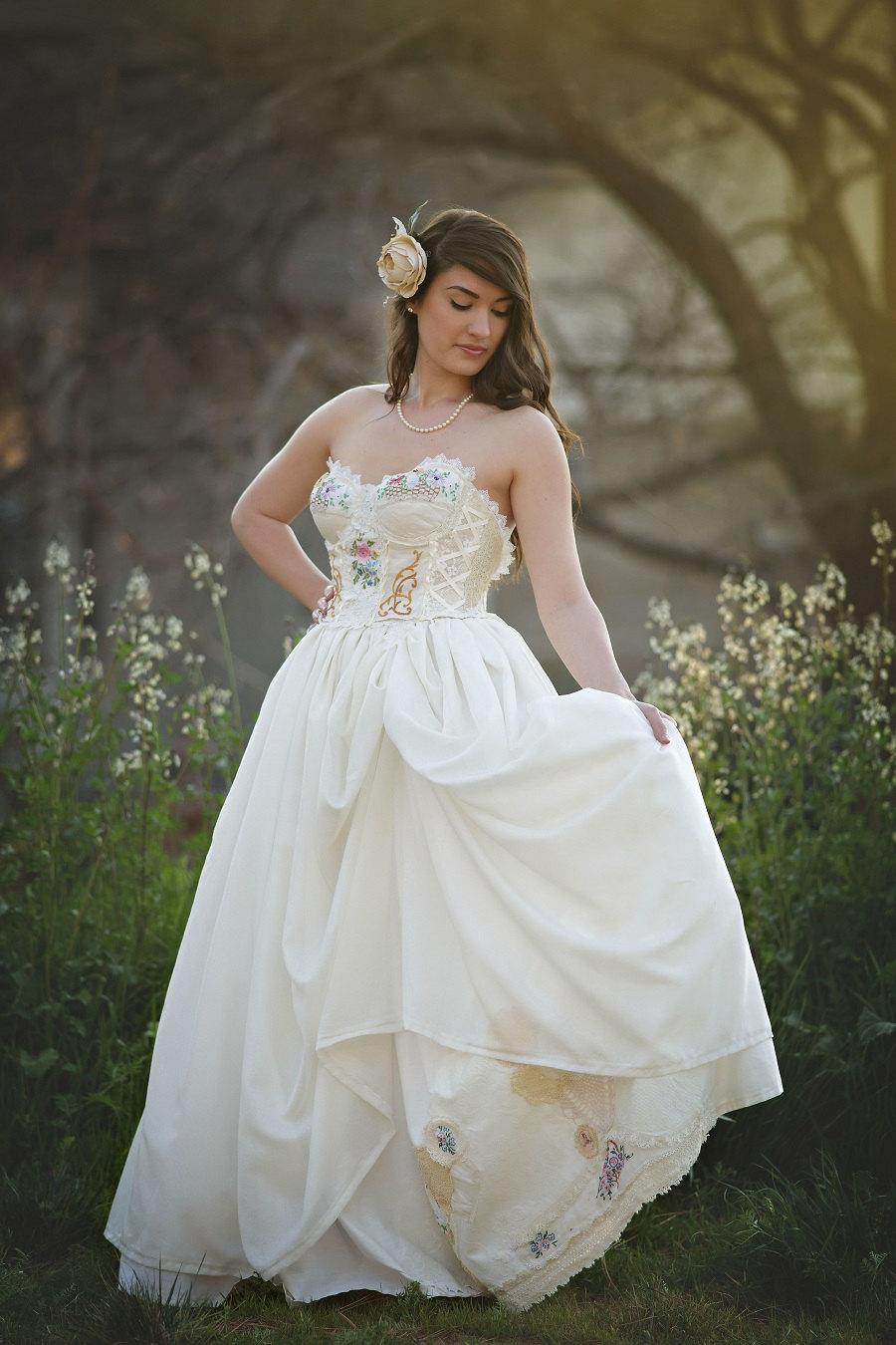Bustier Corset Wedding Dress