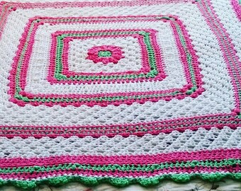Watermelon Candy Baby Blanket
