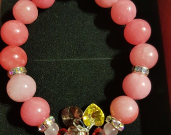 Pink Jade's bracelet !