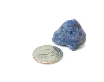 XL Blue Tanzanite 84 ctw  Rough Tanzanite Raw Crystal Gemstone Mineral Specimen Natural Blue Africa