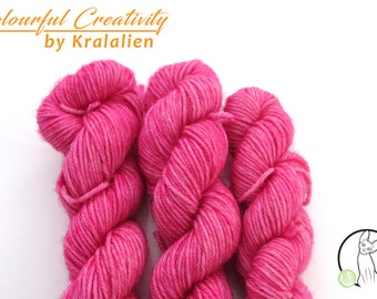 Pre-order: Raspberry Sorbet -  Colourful Smooth Sock Kitten