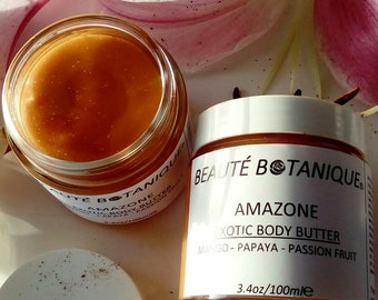 AMAZONE Exotic Body Butter with Mango - Papaya & Passion Fruit