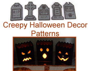 PATTERN: Creepy Halloween Decor