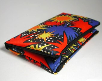 """Tobacco pouch, Wallet, Mobile Phone pouch """"stars"""""""