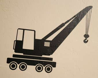 Crane - Wall Decal