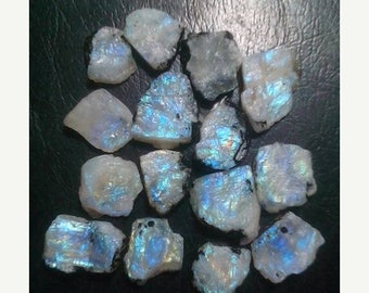 80% OFF SALE Rainbow Moonstone Rough Druzy