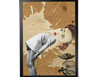 Art print poster collage DADA #5 in A3 (29, 7x42cm)