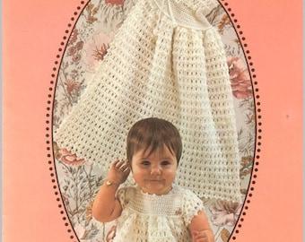 Vintage crochet pattern book emu learn to crochet