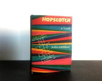Hopscotch Leather Book Purse Julio Cortazar Book Bag
