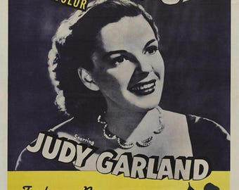 The wizard of Oz Judy Garland (1939) movie poster reprint 19x12.5 inches