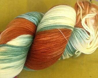 Sara's Colorwave Hand Painted Knitting Wool Sock Yarn Destash