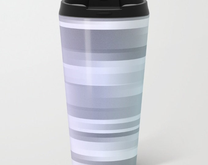Travel Mug Metal - Coffee Travel Mug - Hot or Cold Travel Mug - 20oz Mug - Stainless Steel - Made to Order