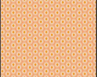 Art Gallery Oval Elements Fabric Peaches n Cream Half Yard
