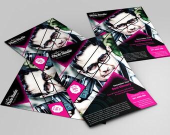 Awesome Printable Photography Flyer Template | Photography Marketing flyer | Marketing Template for Studio Photographer