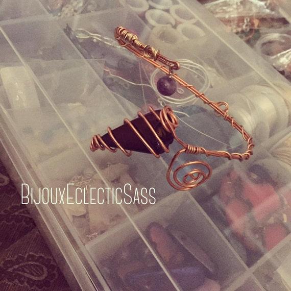 Power Stone Cuff Bracelet