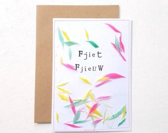 Fjiet Fjieuw I Ansichtkaart/Postcard
