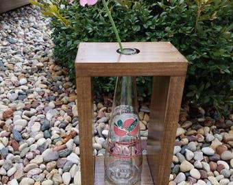 Framed Bottle Vase