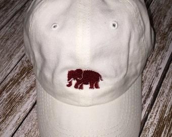 Toddler boy cap; Boy hat; Elephant hat; UA cap; UA boy hat; Boy cap; toddler boy hat; Alabama cap for boy
