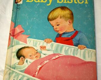 1964 Baby Sister A Rand McNally Elf Book
