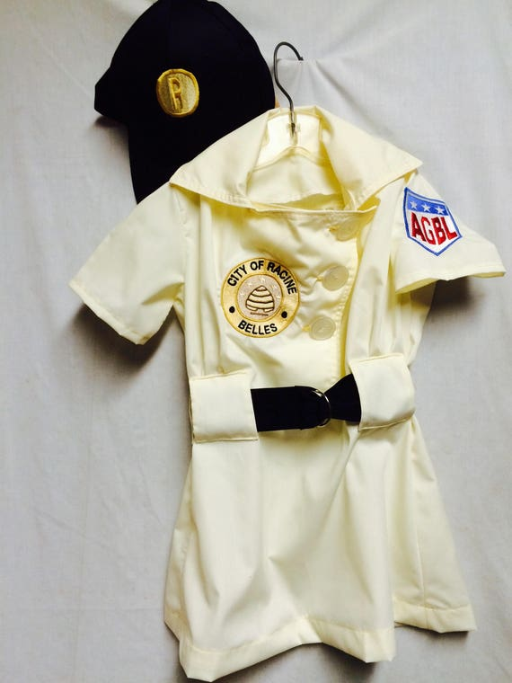 & Racine Belles Girls Baseball Costume