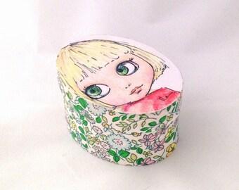 Blythe decoupage box.