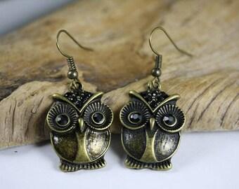 Owl Earrings - Item 1970