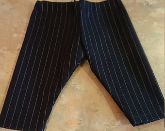 Doll/Bear clothing, striped trousers. 5.25-6inch elasticated waist.