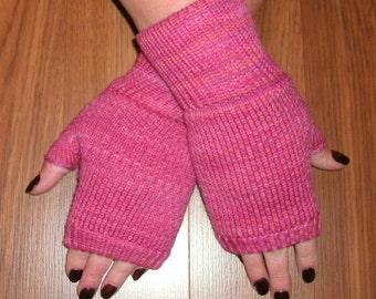 Fingerless gloves merino wool